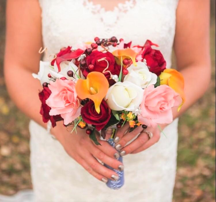 Fall Silk Floral Bouquet