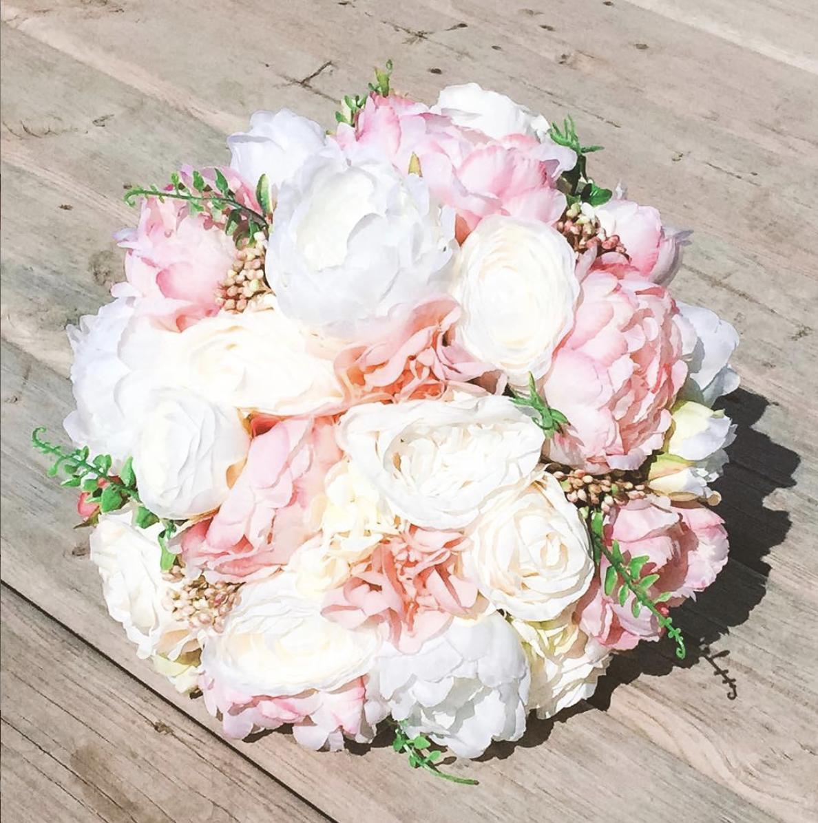 silk floral design